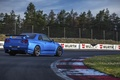 Picture Nissan, Car, Blue, Sun, Day, Skyline, R34, Track, Rear