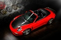 Picture red, Carrera, Porsche 991, tuning, Cabriolet, Stinger, Ball Wed