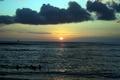Picture sea, the sky, landscape, sunset, nature, horizon