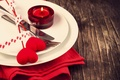 Picture table, holiday, romance, heart, candle, decoration, heart, holiday, romance, table, decoration, candle