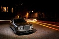 Picture Bentley, street, train, Arnage