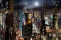 Picture megapolis, futurism, the city, Scott Richard, future, building, futurism, fantasy, megalopolis, City, skyscrapers, skyscrapers, buildings, ...