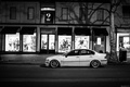 Picture BMW, BMW, black and white, The 3 series, e46, 323i