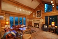 Picture comfort, sofa, fireplace, interior, Windows