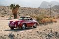 Picture red, 356B, red, PORSCHE, desert, classic, ROADSTER, german, convertible, car, classic
