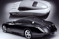 Picture Maybach, retro/Futuro, chorno-white