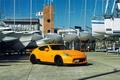 Picture Nissan, tuning, orange, 370z, vossen, frontside