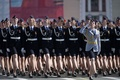 Picture girls, holiday, parade, victory day, red square