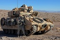 Picture M2 Bradley, infantry fighting vehicle, USA, M2 Bradley, USA, military equipment, soldier