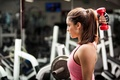 Picture woman, gym, fitness, workout