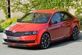 Picture the concept car, rapid sport, the front, Concept, Skoda, Rapid Sport, Skoda