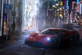 Picture Tokyo, by Khyzyl Saleem, Widebody, Red, Future, Tuning, Ford