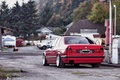Picture tuning, red, BMW, E34, 532i