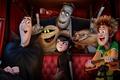 Picture Mavis, Dracula, Frankenstein, Hotel Transylvania 2, Jonathan, monsters on vacation, Wayne
