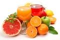 Picture lemon, apples, oranges, fruit, citrus, grapefruit, garnet, juices