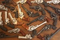 Picture weapons, iron, guns, revolvers