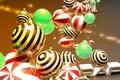 Picture balls, ball, sphere, glossy, Wallpaper art, cinema 4D