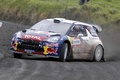 Picture machine, Auto, Citroen, Skid, Citroen, Lights, DS3, Rally, The front, Mikko Hirvonen, Jarmo Lehtinen