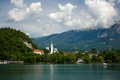 Picture lake, Slovenia, Bled