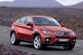 Picture road, auto, machine, BMW, bmw x6 road