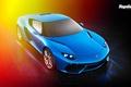 Picture Lamborghini, Top Gear, Blue, Front, Asterion, LPI 910-4
