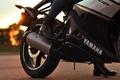 Picture girl, yamaha, motorbike, r125