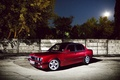Picture red, E30, stars, wall, red, BMW, 3 Series, tree, Sedan, BMW