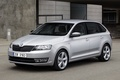 Picture grey, skoda, spaceback, rapid