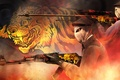 Picture tera, workshop, light, concept, gold, cs go, smoke, paint, tiger, AK-47, collection, awp