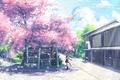 Picture yuuko-san, schoolgirl, hatsune miku, art, umbrella, anime, form, girl, Sakura, vocaloid