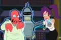 Picture Zoidberg, zoidberg, blow, Dr., current, futurama, futurama, Leela, Bender, cartoon