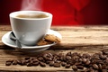 Picture love, coffee, Cup, valentine's day