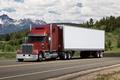 Picture truck, cars, freightliner