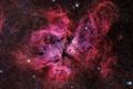 Picture located, star system, ETA Carinae, Eta Carinae, in the constellation of Carina
