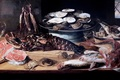Picture Brussels, picture, Etal of a fishmonger, Francis Snyder, Stall fishmonge