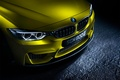 Picture BMW, German, Car, Front, Yellow, Ligth, Bimper