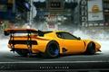 Picture Art, Khyzyl Saleem, Car, Future, Yellow, Ferrari