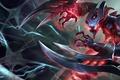 Picture the demon, league of legends, game, nocturne, fiction