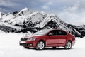 Picture snow, mountains, sedan, Sedan, Skoda, Skoda, Octavia, Octavia