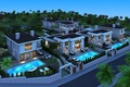 Picture photo, 3D graphics, mansion, night, home