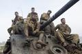 "Picture M4 Sherman, Brad Pitt, Brad Pitt, Fury, ""Fury"", tank, drama, the crew"
