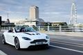 Picture Vantazh, London Eye, Aston Martin, Aston Martin, road, white, London, supercar, the city, V12, Ferris ...