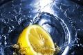Picture lemon, water, tea