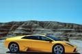Picture murcielago, Lamborghini, mountains, supercar, side view, lamborghini