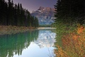 Picture autumn, forest, nature, river, mountain