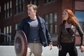 Picture Chris Evans, Captain America, Scarlett Johansson, The Winter Soldier, Natasha Romanoff, Steve Rogers