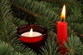 Picture balls, holiday, Christmas, Candles, New year