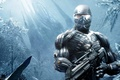 Picture super-weapons, armor, cyborg, frost, Crysis, muscles, sight
