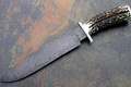 Picture weapons, Knife, Damascus steel