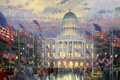 Picture Capitol, Kinkade, Flags